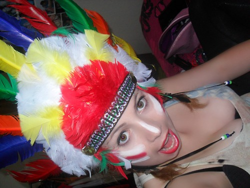 this particular headdress is the ugliest and most common