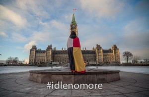 We need Canadians to be Idle No More too.